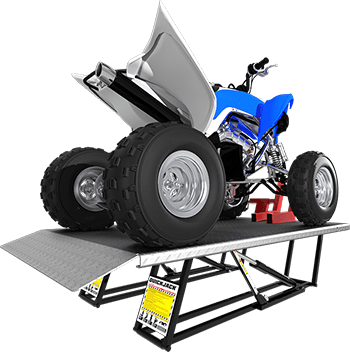 ATV and Motorcycle lift kit for QuickJack