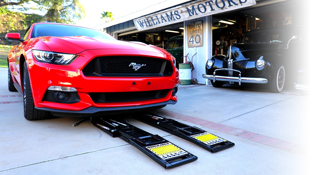 QuickJack is the ultimate portable car lift